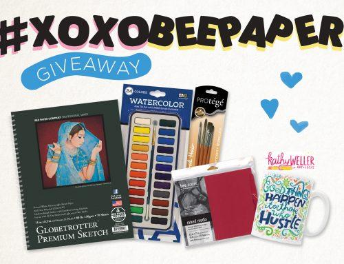 #xoxobeepaper Giveaway